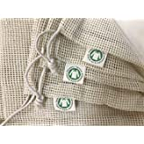 Reusable Organic Cotton Produce Bags - Cotton Mesh Bags for Grocery - Reusable Bags for Vegetable - Organic Cotton Mesh Groce