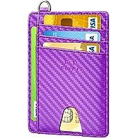 FurArt クレジットカードケース スキミング防止 薄型 0.6cm スマートタイプ スリム カラー豊富 メンズ レデ…