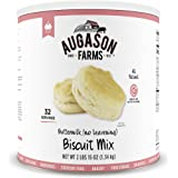 Augason Farms Buttermilk (No Leavening) Biscuit Mix #10 Can, 46 oz