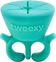 Tweexy The Wearable Nail Polish Holder, Spa Green, Spa Green, 60 grams