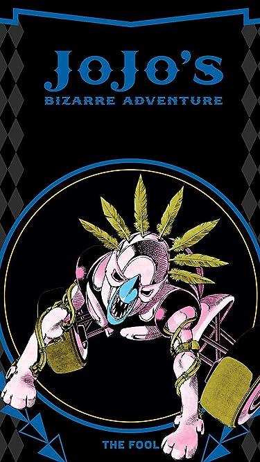 ジョジョの奇妙な冒険  iPhone/Androidスマホ壁紙(540×960)-1 - イギーのスタンド『愚者(ザ・フール)』