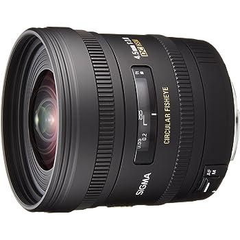 SIGMA 単焦点魚眼レンズ 4.5mm F2.8 EX DC CIRCULAR FISHEYE HSM キヤノン用 円周魚眼 APS-C専用 486549