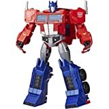 Transformers Toys Optimus Prime Cyberverse Ultimate Class Action Figure - Repeatable Matrix Mega Shot Action Attack Move - To