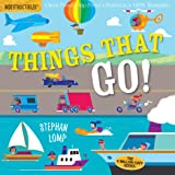 Indestructibles: Things That Go!: Chew Proof - Rip Proof - Nontoxic - 100% Washable (Book for Babies, Newborn Books, Vehicle