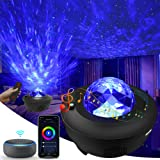 Galaxy Projector, 3 in 1 Smart Star Projector Sky Lite with Alexa, Google Assistant for Baby Kids Bedroom/Game Rooms/Home The