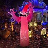 HOOJO Halloween Ghost Inflatable Decoration