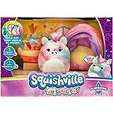 "Squishville by Squishmallow Mini Plush Room Accessory Set, Playroom, 2"" Soft Mini-Squishmallow and 2 Plush Accessories, Marsh"