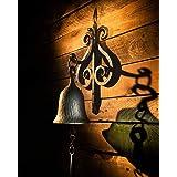 2wayz Dinner Bell, Wall Hanging Cast Iron Farmhouse Classic Design. Enjoy!