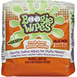 Boogie Wipes, Wet Wipes for Baby and Kids, Nose, Face, Hand and Body, Soft and Sensitive Tissue Made with Natural Saline, Alo