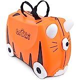 Trunki 0085-WL01 Tipu Tiger Ride On Suitcase, Orange