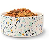 """Now House for Pets by Jonathan Adler Jonathan Adler: Now House Terrazzo Standard Bowl, 6.75"""" 