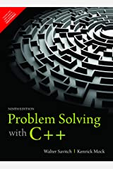Problem Solving With C++ , 9Th Edition [Paperback] [Jan 01, 2017] Walter Savitch Paperback
