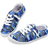 Ataiwee Toddler Sneaker Shoes - Kids Casual Canvas Comfy Non-Slip.