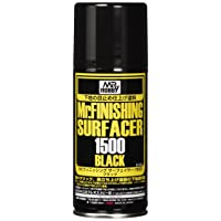 GSIクレオス Mr.フィニッシングサーフェイサー 1500 ブラック スプレー 170ml ホビー用仕上材 B526