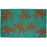 DII Natural Coir Fiber, 18x30 Entry Way Outdoor Door Mat with Non Slip Backing - Palm Beach