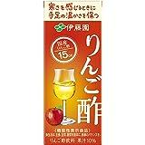 [機能性表示食品] 伊藤園 りんご酢 紙パック 200ml ×24本
