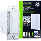 GE Enbrighten Z-Wave Plus Smart Motion Light Switch, Works with Alexa, Google Assistant, SmartThings, Wink, Zwave Hub Require