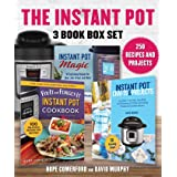 Instant Pot 3 Book Box Set: 250 Recipes and Projects, 3 Great Books, 1 Low Price!
