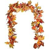 DearHouse Maple Leaf Garland Maple Leaf Vine-b