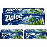 3箱セット ジップロック フリーザーバッグ Sサイズ 18枚入 ジッパー付き保存袋 冷凍・解凍用 (縦12.7cm×横1…