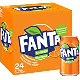 Fanta Orange Soft Drink Multipack Cans, 24 x 375 ml