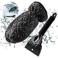 スノーブラシ, 手袋付きアイススクレーパー, 自動車用ガラスの場合, 防水スノースクレーパーとブラシ, 厚い綿毛で裏打ち…