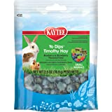 Kaytee Fiesta Blueberry And Strawberry Flavor Yogurt Dipped Timothy Hay For Small Animals, 2.5-Oz Bag