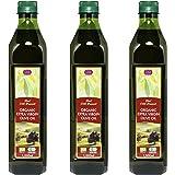 チブギス オーガニック エキストラバージン オリーブオイル【大容量=全部で3リットル】1,000ml ペットボトル X 3本【有機JAS認定・EUオーガニック】CIVGIS Organic Extra Virgin Olive Oil 1,000ml