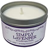 Our Own Candle Company Soy Wax Aromatherapy Scented Candle Simply Lavender 6.5 Ounce