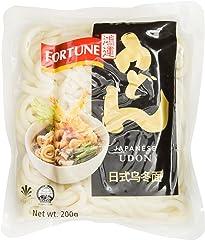 FORTUNE Udon Noodles, 200g, (Pack of 3)