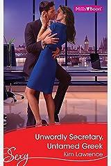 Unworldly Secretary, Untamed Greek Kindle Edition