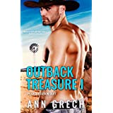 Outback Treasure I: A gay cowboy age-gap forced proximity romance (Pearce Station Duet Book 1)