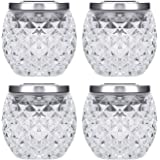 Solar Powered Lights, Solar Table Lights, Outdoor&Indoor Waterproof Led Night Light for Bedroom Yard Patio Decorations, 4 in