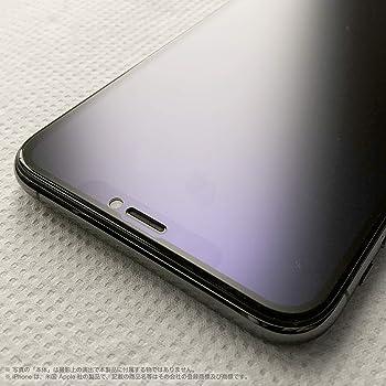 iPhone Xs/X 5.8-inch/Anti-Glare Bluelight cut フルカバー強化ガラス・PRO GUARD CRYSTAL GLASS (5.8-inch iPhone Xs/X, 2.5D Full Cover Full glue Anti-Glare Bluelight cut)
