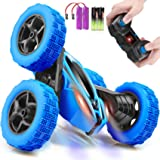 ORRENTE Remote Control Car, RC Cars 2.4GHz Fast Stunt RC Car, 4WD Double Sided 360° Rotating RC Trucks with Headlights, Off R
