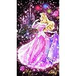 ディズニー iPhone8,7,6 Plus 壁紙(1242×2208) 眠れる森の美女 恋する心の煌めき(オーロラ)