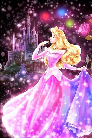 ディズニー  iPhone/Androidスマホ壁紙(640×960)-3 - 眠れる森の美女 恋する心の煌めき(オーロラ)