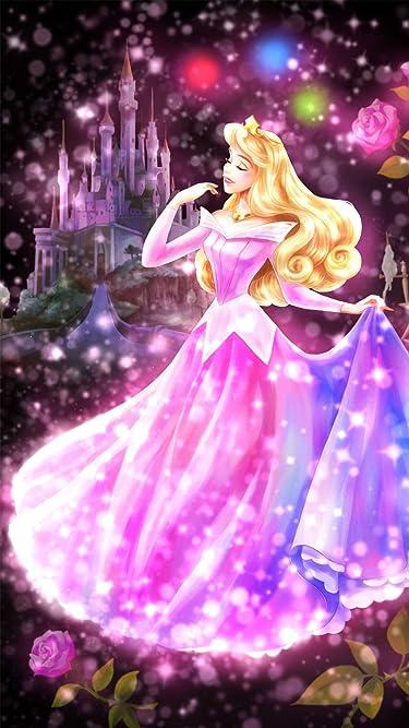 ディズニー  iPhone/Androidスマホ壁紙(540×960)-1 - 眠れる森の美女 恋する心の煌めき(オーロラ)