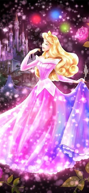 ディズニー  iPhone/Androidスマホ壁紙(207:448)-1 - 眠れる森の美女 恋する心の煌めき(オーロラ)