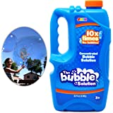 Bubble Solution Refill (up to 2.5 Gallon)? BIG Bubble Solution 32 Ounce CONCENTRATED Solution by Joyin Toy