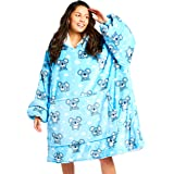 The Oodie Wearable Sherpa Blanket Hoodie - Cozy & Warm Oversized Fleece Hooded Blanket with Large Front Pocket - Thick Plush