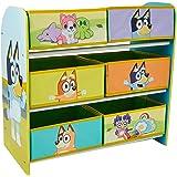 Bluey 14362 Kids Bedroom Toy Storage Unit