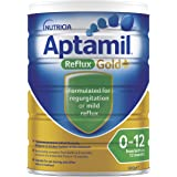 Aptamil Gold+ Reflux Baby Infant Formula Regurgitation or Mild Reflux from Birth to 12 Months 900g