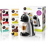 De'Longhi Nescafé Dolce Gusto Mini Me, Single Serve Capsule Coffee Machine Starter Kit, Including 6 boxes of Coffee Pods, EDG