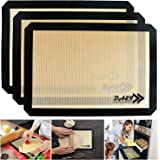 Silicone Baking Mat, Food Grade Heat Resistant, Non-Stick and Eco-Friendly, Non-Toxic for Oven Baking