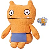 """UglyDolls - Warm Wishes Wage 10"""" Plush Figure - Orange Doll wearing Purple Apron with Letter - Movie Inspired - Dolls and Toy"""