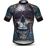 USA Cycling Jersey Men, Men's Bike Shirt Short Sleeve Tops S-XXXL Lycra Cuffs