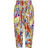 LingaDore 5111LP-204 Women's Bossa Multicoloured Floral Harem Beach Pant