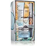 Peter Thomas Roth Hydration Glow-Up 3-Piece Kit with Hyaluronic Acid Moisturizer, Vitamin C Facial Serum and Facial Cleanser,
