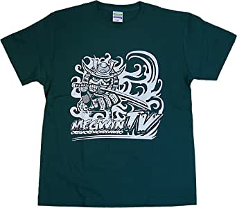 MEGWIN TV Tシャツ サムライ グリーン (S)